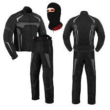Motorcycle Two Piece Racing Cordura Suit Motorbike Suit for Men CE Armour