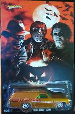 """Hot Wheels SU MISURA '70 CHEVELLE Pannello """" Halloween """" Real Rider LIMITATO"""
