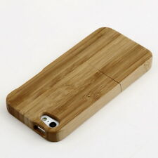 Natural Bamboo Wood Hard Back Case Cover Protector for Apple iPhone 5 5S PP