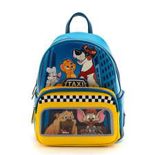 Loungefly Disney Oliver and Company Taxi Ride Dodger Mini Backpack Bag WDBK1008