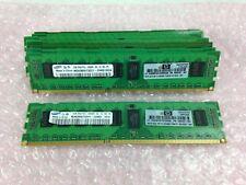 Samsung 18GB 9x2GB M393B5673EH1-CH9Q1 2Rx8 PC3-10600R DDR3 500202-061 Server RAM
