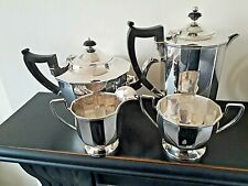More details for vintage a1 silver plated tea service-william hutton