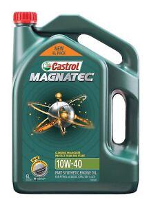 Castrol MAGNATEC 10W-40 Engine Oil 6L 3414526