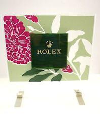 Espositore - display per orologi Rolex - fiori