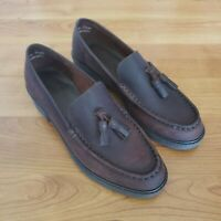 G.H. Bass & Co. Womens Tassel Weejuns Slip on Loafers Brown Size 7.5