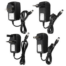 DC/AC 12V 1A 2A Power Supply Charger Adapter for LED Light Strip Camera CCTV LOT