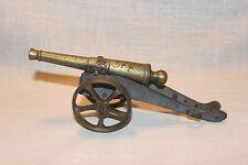 Antique P R Thevenon Minature Brass Cannon 1904 --Father's Day Gift