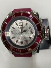 Nice Kyboe! Giant Mariner 55mm, Backlight, Burgundy/Steel 10 Atm Wr Men's Watch