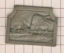 jolie plaquette Fécamp 1872-1934 professeur Gosset académie des sciences
