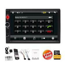 7-Inch GPS Navigation with Free 8GB Map Card 1080P Video Screen Mirror RDS Radio