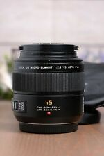 Panasonic Leica DG MACRO-ELMARIT 45mm F/2.8 MEGA O.I.S. ASPH Lens
