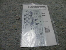 Repli-Scale decals 1/48 #5016 F-18 Hornet Reserve and VFA-132 Atsugi NAS    M160