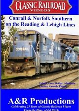 READING AND LEHIGH LINES CLASSIC RAILROAD VIDEOS NEW DVD A&R PRODUCTIONS