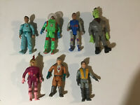 Vintage Real Ghostbusters Ray Winston Peter Janine Monsters Kenner  Lot Of 6