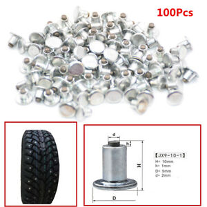 Bicycle Car Tires Studs For Holes Tire Screw Snow Spikes Wheel Tyre Chain Studs