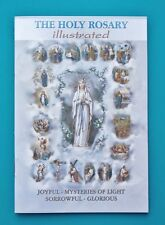 How to Pray Holy Rosary Book Catholic Baptism First Communion Confirmation Gifts