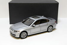 1:18 Norev BMW 550i F10 Limousine Silver Dealer NEW at premium-modelcars