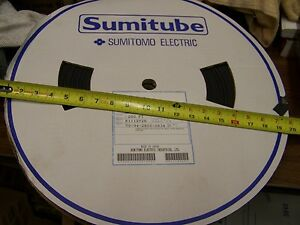 NEW Sumitomo Sumitube F5N 1/2' x 200' ft Black Heat Shrink Tubing Made in Japan