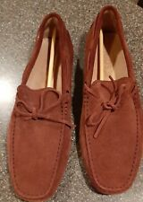 New Tod's Men's Shoes Drivers Laccetto   Gommini Loafers - UK 8.5