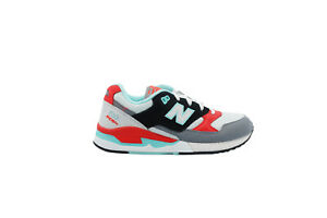 [W530AAB] New Balance 530 Womens Running Sneakers White/Mint-Infrared