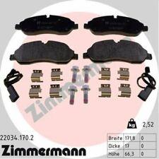 1x Bremsbelagsatz  Scheibenbremse ZIMMERMANN 22034.170.2