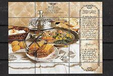 CEPT, Bosnia & Erzegovina, Europa 2005 gastronomia, mer BL 25 timbrato