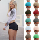 Women Lady Sports Shorts Gym Workout Skinny Elastic Fitness Yoga Leggings Pants