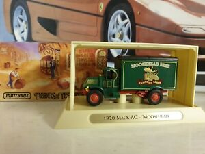 MATCHBOX / BREWERY COLLECTION - AC MACK - MOOSEHEAD - 1/35.SCALE MODEL - YGB09