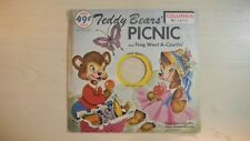 Columbia Records Junior Series TEDDY BEARS' PICNIC 45rpm 50s