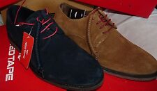 MENS RED TAPE NAIRN SUEDE COMFORT LACE UP SHOES BLUE,TAN