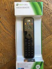 Xbox 360 Media Remote Black (slight box damage) - UK Stock Factory Sealed!