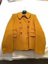Jaeger Ladies Wool Jacket - Coat - Winter - Mustard - Gold - Large