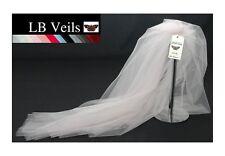 Pink Veil Any Length Wedding 2 Tier Plain Long Short Floor LBV156 LB Veils UK