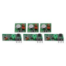 3x 433Mhz RF Wireless Transmitter Module Receiver Kit for Arduino RasPi WL TE934