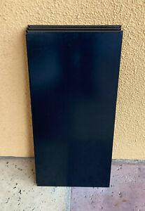 6 Stück USM Haller Tablar 750x350 mm in (30) graphitschwarz