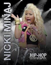 Niki Minaj (Hip-Hop Biographies)-ExLibrary