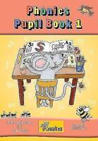(Good)-Jolly Phonics Pupil Book 1 (colour edition): in Precursive Letters (Briti