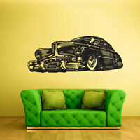 Wall Decal Vinyl Sticker Hot Rod Car Auto Automobile Retro Old Muscle (Z1505)