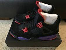 new concept b0c5c c2b82 Nike Air Jordan 4 Retro NRG Raptors Black Univ Red Court Purple AQ3816-