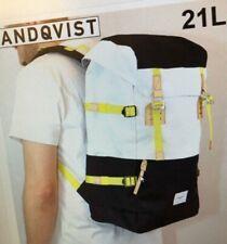 SANDQVIST HARALD BACKPACK 21L, Navy/White/Yellow