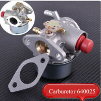 640025 Carburetor For Tecumseh Go Kart 5 5.5 6 6.5HP HOR Engine Carb SER Gasket