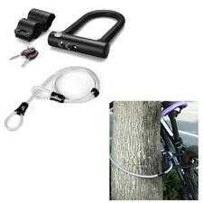 Cerradura Resistente a Ataques Antirrobo Protección Avanzada Bicicleta Cable