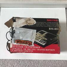 Sony Microcassette Dictator Transcriber Bm-880 (Broken/for parts)