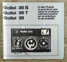 Manual de instrucciones Rollei 35 35t 35s * User Manual * manual de instrucciones (x8094