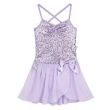 Girls Kids Gymnastic Ballet Leotard Tutu Dress Ballerina Dance wear Costume 7-8
