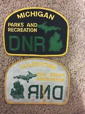 Michigan DNR Parks and Recreation Patch - Unsewn