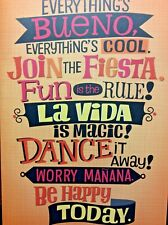 """Musical BIRTHDAY Card for Friend Everythings Cool Song """"CONGA"""" by Glora Estefan"""