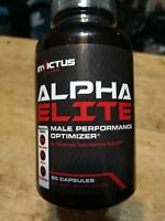Invictus Alpha Elite Male Performance Optimizer Testosterone Booster 90 Capsules
