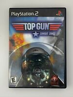 Top Gun: Combat Zones - Playstation 2 PS2 Game - Complete & Tested
