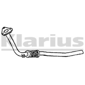 1x KLARIUS OE Quality Replacement Exhaust Pipe Exhaust For AUDI, VW Petrol